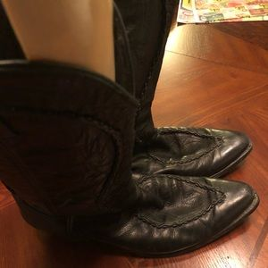 Men's All leather cowboy boots